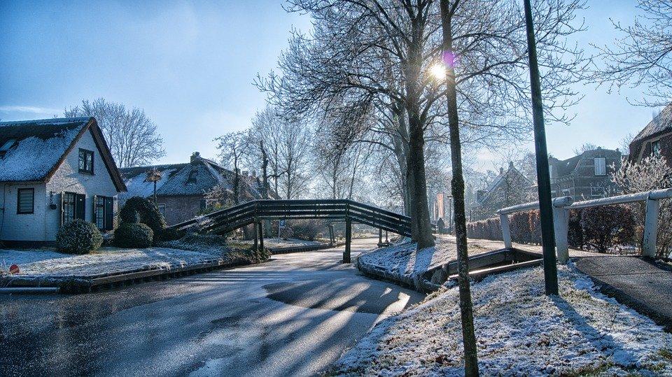 Giethoorn in de winter