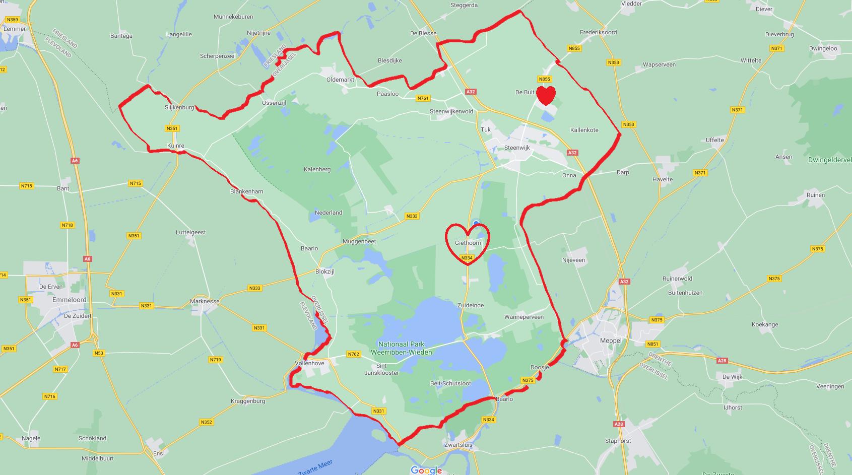 Eesveen/De Bult (ilovegiethoorn.nl)