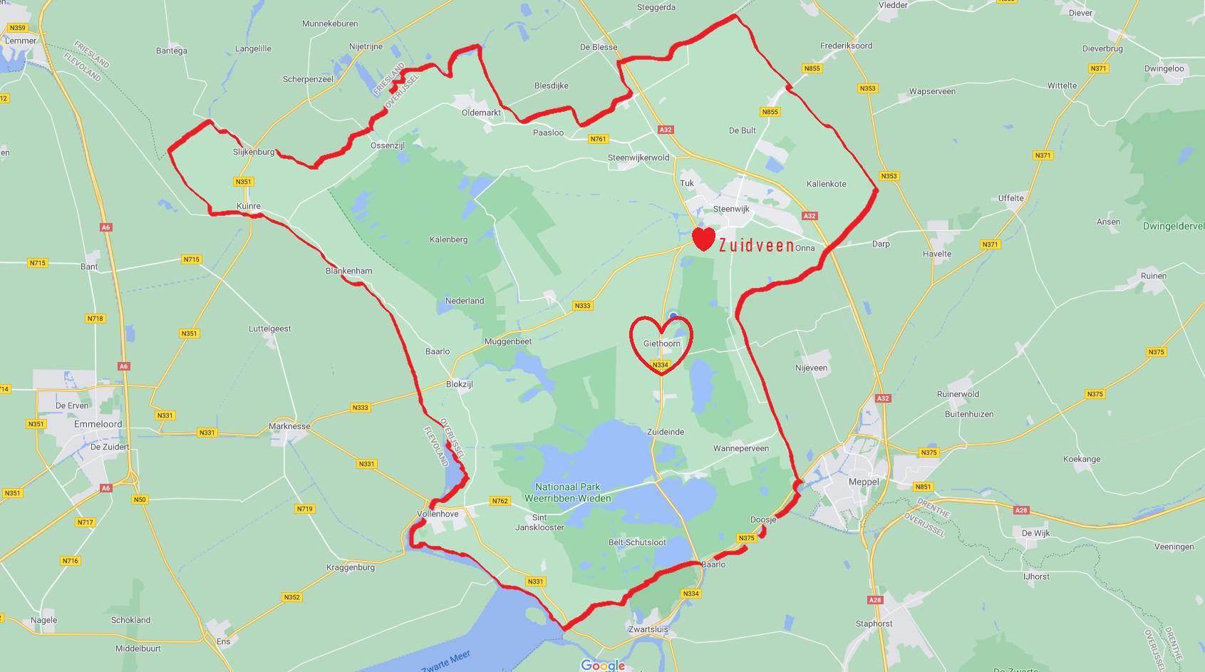 Zuidveen (ilovegiethoorn.nl)
